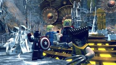 Lego Marvel Super Heroes captura de pantalla