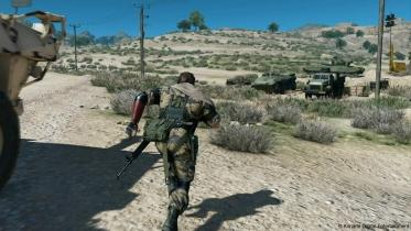 MGS 5 : The Phantom Pain captura de pantalla