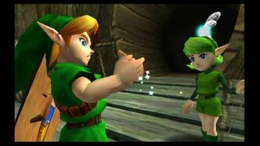 Ocarina of Time 3D captura de pantalla