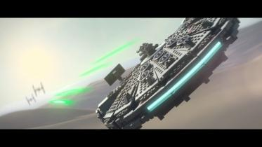 LEGO STAR WARS: The Force Awakens captura de pantalla