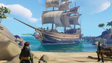 Sea of Thieves captura de pantalla