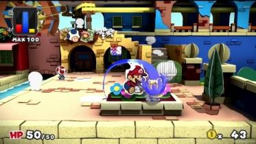 Paper Mario: Color Splash captura de pantalla