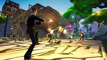 Fortnite captura de pantalla