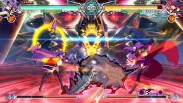 BlazBlue: Central Fiction captura de pantalla