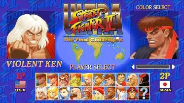 Ultra Street Fighter II: The Final Challengers captura de pantalla