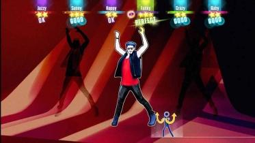 Just Dance 2016 captura de pantalla