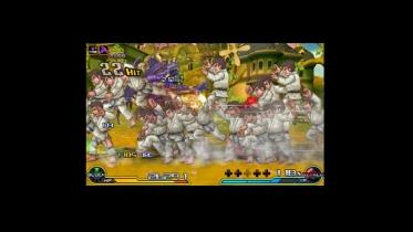Project X zone 2 captura de pantalla